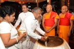 Secratary to the Ministry offers Aluth Sahal to the Sacred Tooth Relic.jpg